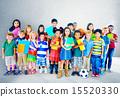 Multiethnic Children Smiling Happiness Friendship Concept 15520330