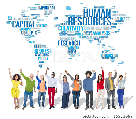 Human Resources Career Jobs Occupation Employment Concept 15523065