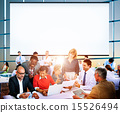 Business People Office Working Discussion Team Concept 15526494