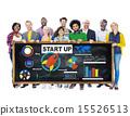 Diversity Casual People Start up Teamwork Creativity Innovation 15526513