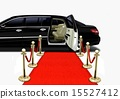 Black Limo on Red Carpet Arrival 15527412