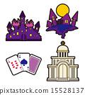 地牢 矢量 卡片 15528137