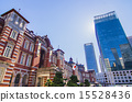 tokyo station, a building, architectural structure 15528436