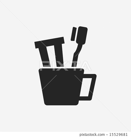 Toothbrush icon 15529681