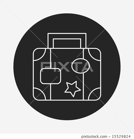 suitcase line icon 15529824