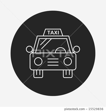 taxi line icon 15529836