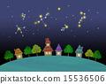 별자리, 거리, 거리 풍경 15536506