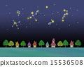 밤하늘과 거리 15536508