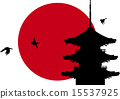 일본의 절 _ 오층탑 15537925