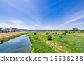 river, bed, tamagawa 15538238