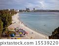 グアムの海とボート 15539220