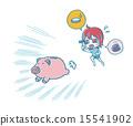 逃生猪的存钱罐 15541902