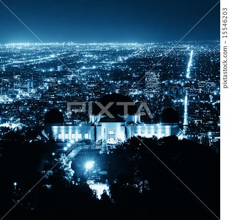 Los Angeles at night 15546203