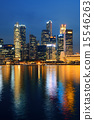 全景的 新加坡 天際線 15546263