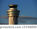 control tower, haneda airport, cloudless 15548890