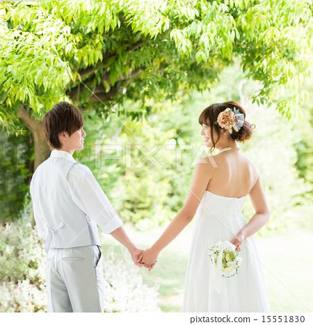 新郎新娘 婚禮 男人和女人 15551830