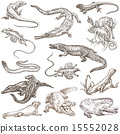 Lizards - An hand drawn pack, freehands 15552028