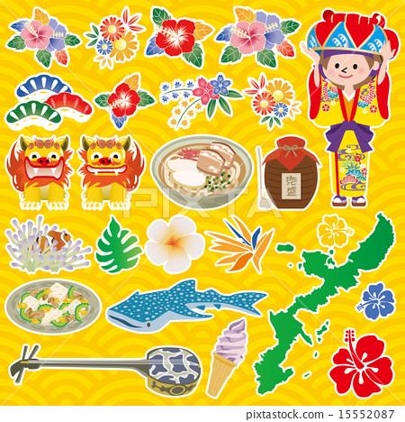 图标 矢量 冲绳 15552087