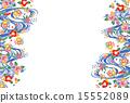 框架 染色的方法 矢量 15552089