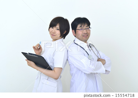 Doctor and nurse 15554718