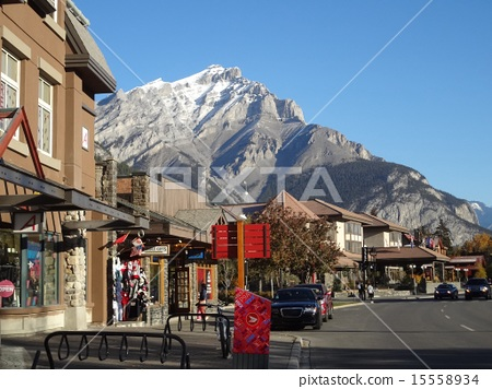 A landscape with a mountain in Canada 15558934