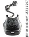 phone, black, antique 15561507
