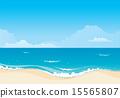 Beach background 15565807