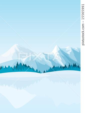 Winter mountains 15565991