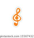 clef realistic design 15567432