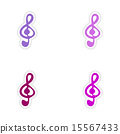 clef realistic assembly 15567433