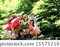 hiking, hikers, trekking 15575210
