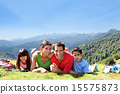 hiking, family, outdoors 15575873