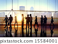 Business People Meeting Seminar Corporate Office Concept 15584001