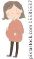 Pregnant woman 15585537