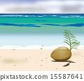 모래사장, 모래 해변, 모래톱 15587641