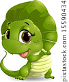 蜥蜴 卡通 插图 15590434