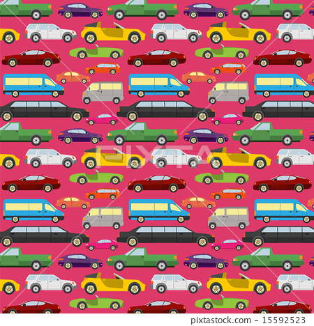 Passenger car background, seamless 15592523