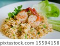 rice and shrimp 15594158
