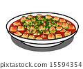 麻婆豆腐 插圖 午餐 15594354