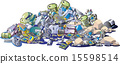 矢量 垃圾 工業垃圾 15598514