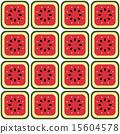 甜瓜 哈密瓜 无缝的 15604578