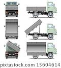 tipper, truck, vector 15604614