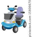 electric cart, vectors, vector 15606670