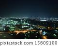 yokkaichi, night, scape 15609100