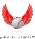 Flying baseball 15611570