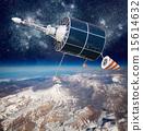 卫星 空间 地球 15614632