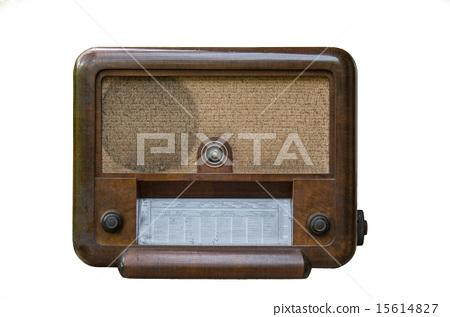 Vintage fashioned radio 15614827