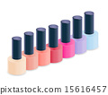 Realistic Nail Polish Vector Illustration 15616457