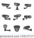 icons, camera, surveillance 15623717