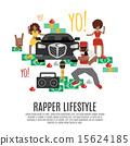 rap, music, concept 15624185
